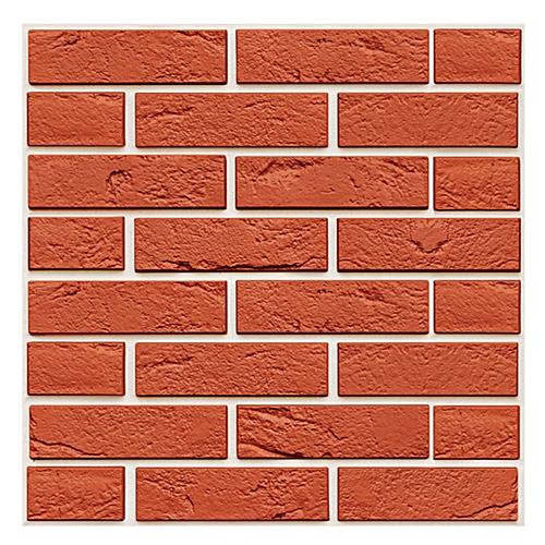 3D Wallpaper Wall Sticker Wall Decor Embossed Brick Simulation Tile Wall Sticker