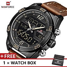 Top Luxury Brand Watch Fashion Sports  Men Dual Display Watches For Male NF9128 for sale  Nigeria