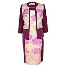 Classy Multicolored Ladies Dress Suit