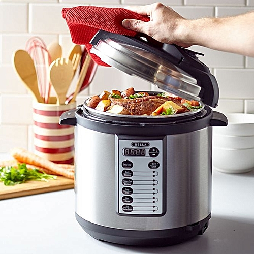 6 Litre Multi-Function Electric Pressure And Slow Cooker With Touch Pad