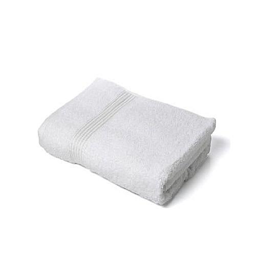 Quality Bath Body Towel (Medium Size) White