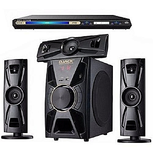 3.1 BLUETHOOT HOME THEATER SYSTEM DJ-403 + LG DVD PLAYER