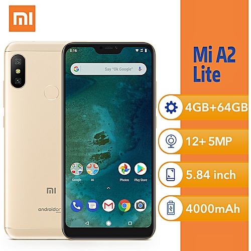 (Xiaomi) Mi A2 Lite 5 84-Inch (4GB, 64GB ROM ) Smartphone - Gold