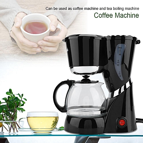 [free Gift] Multifunctional American Electric Automatic Coffee Machine Home Office 220V