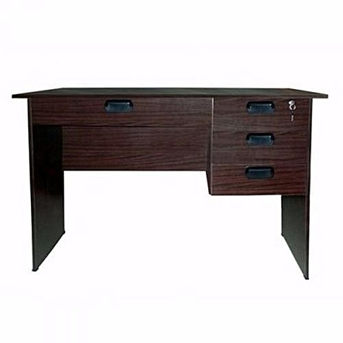 3 Ft Office Table - Brown (Delivery Within Lagos Only)