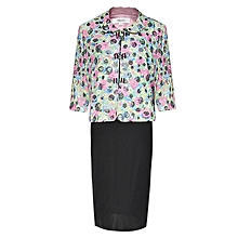 Uncommon Multicolored Ladies Dress Suit