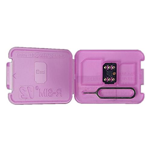 37d9d8d3e2a Generic RSIM 12 Unlock Card 4G Auto Unlocking Card For IPhone X/8/7 ...