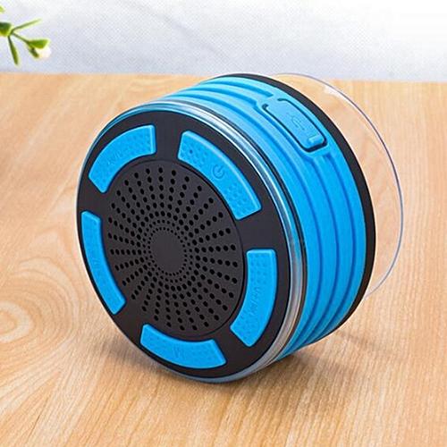 F013 7 - Level Waterproof Bluetooth Speaker-BLUE