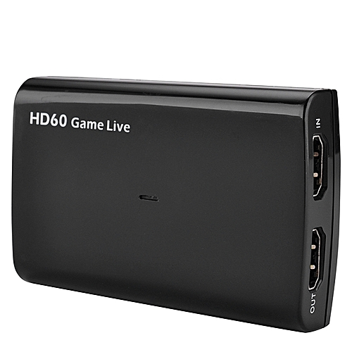 Y&H 4K Input HDMI Game Capture HD60 1080P Video Game Recorder Device USB3.0 Live Stream Box For Nintendo Switch PS4 Xbox One 360 Wii U Ezcap266