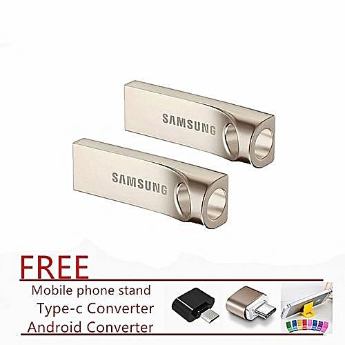 USB Flash Drive Disk 2TB USB 3.0 Metal Mini Pen Drive-Silver