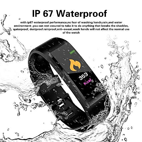 Generic Fitness Tracker 0 96 Inch Tft Display Smartwatch