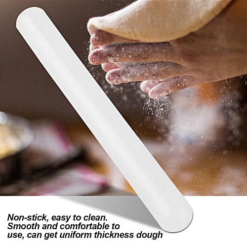 Fondant Rolling Pin Nylon Non Stick Pizza Dough Roller For Cookie Pastry DIY Cake Baking Tool