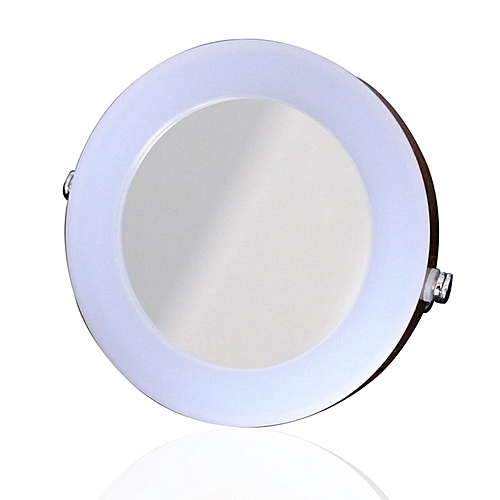 Desktop LED Lighted Cosmetic Mirror Makeup 3X Magnifying Beauty Mirror Gold Color