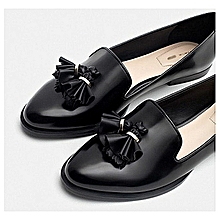 Fashion Quality Flat Loafers Shoe - Black 655137b6bc24