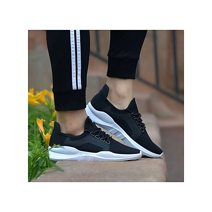 e41d7a883b93be Fashion Men Shoes Fashion Sneakers- Black(+ 1 Free Pair Of Socks ...