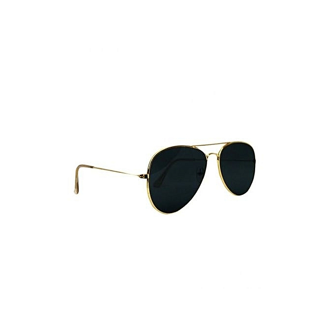3e2c05c270 Unisex Aviator Sunglasses - Black Lens