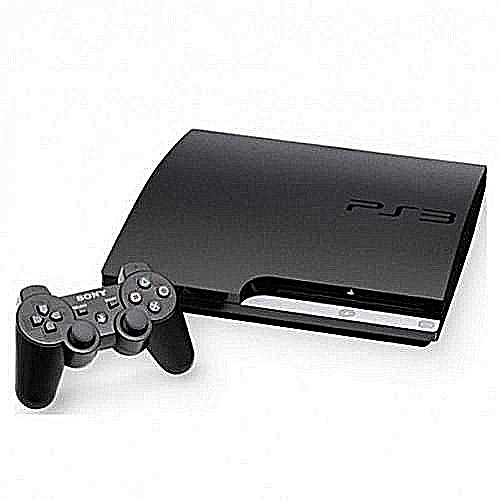 Play Station 3 Slim (320GB) Console With (10 Games) With Extra Pad Controller