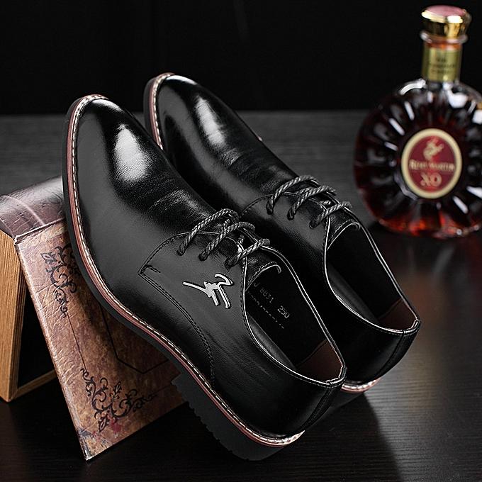 152750efa6b Men Business Business Cool Dress Shoes Men s Gentle Wedding Office Leather  Shoes Luxury Brand Formal Wearing