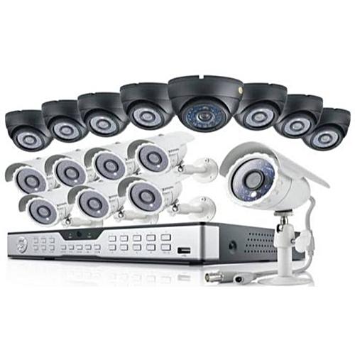 CCTV 1080P AHD 2.0 CCTV Camera 8 Indoor + 8 Outdoor Camera + One 16Channel DVR