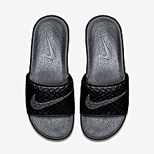 725ea3e6eb0ff7 Benassi Solarsoft Slide2 - Black   Wolf Grey