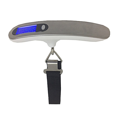 GY-024 50KG Portable Stainless Steel Electronic Hand Scale Luggage Scale