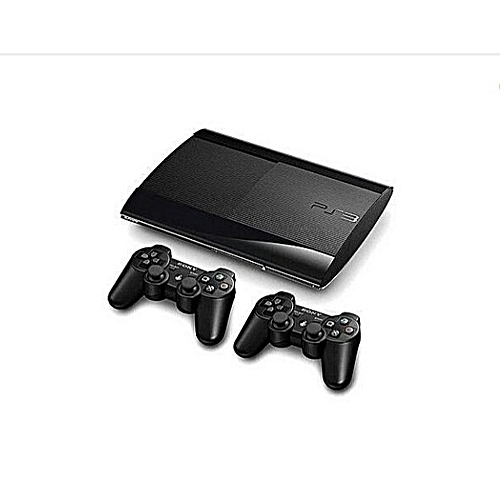 500GB SUPERSLIM PS3 CONSOLE WITH 2PAD AND 20BONUS GAMES INCLUDING FIFA 19 WITH PES 2018