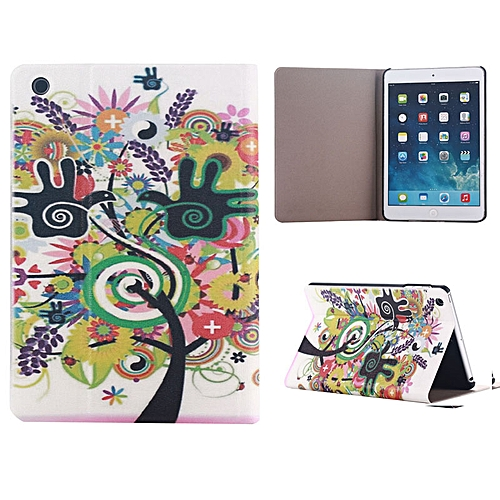 Painting Tree Flip Stand Leather Case Cover For IPad Mini 1 2 3 Retina