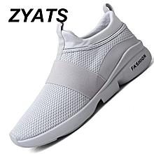 f76f129b8 ZYATS New Men  039 s Fashion Breathable Athletic Casual Lightweight Sport  Sneakers-Grey