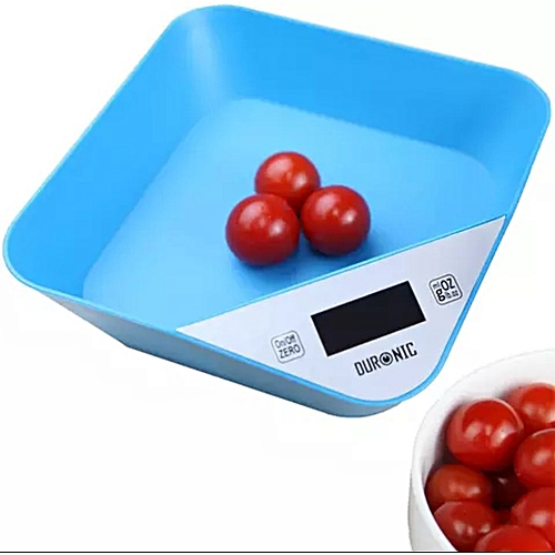 LCD Food Grade Digital Kitchen Scale With Inbuilt Tray 5kg