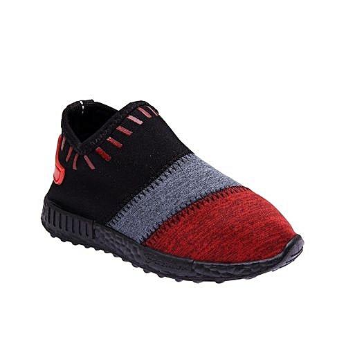 Fashion Boys Shoe- Multicolor Red