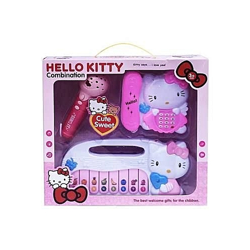 Hellokitty Combination Toy Set