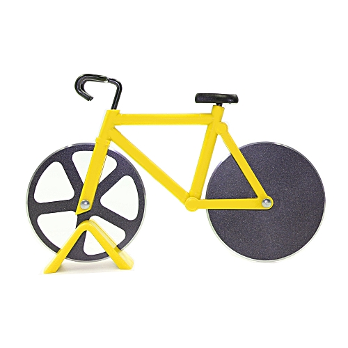 Bicycle Shape Pizza Cutter(Yellow)