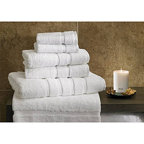 Pure 100% Cotton 6-in-1 Body Towels