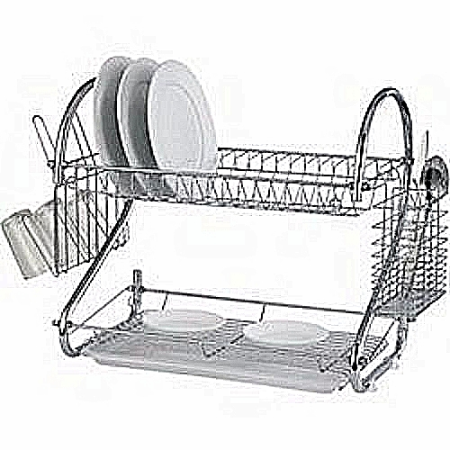 Plate Drainer/Dish Rack Two Layers