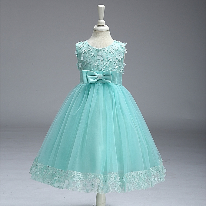064c94a65 Fashion Infant Girl Dress Tutu Clothes Kids Birthday Party Gown ...