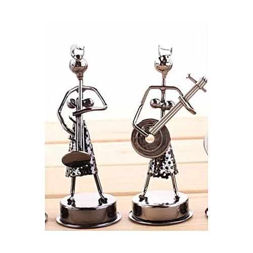 2 Piece Metal Art Craft Decor