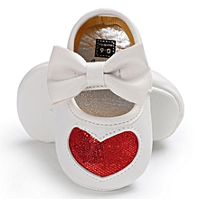 c90f458408 Baby Girl Shoes PU Sequins Princess ShoesSoft Bottom Cute Toddler Shoes-Red
