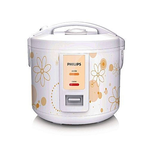 Rice Cooker With 5 Layer Golden Inner Pot-HD3017/56
