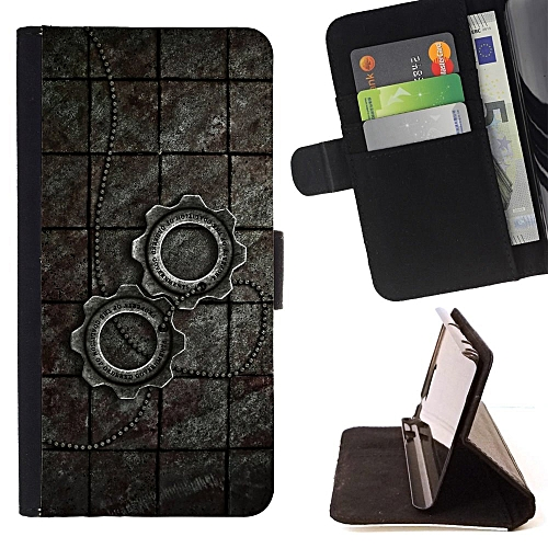 Flip Quality PU Leather Case Cover With Stand Function And Card Slots For HTC 10 - Design No.3009677