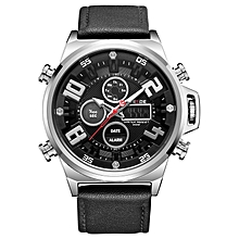 WEIDE WH7309 Men  039 s Casual Watch Analog LCD Digital 30M Waterproof  Stainless Steel f71e48a124a