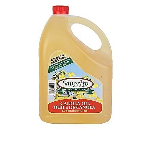 Pure Canola Cooking Oil -5L X6 Pack
