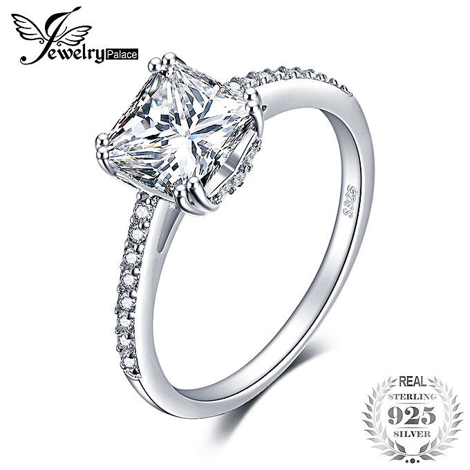 Jewelry Palace Jewelrypalace Cubic Zirconia Ring 925 Sterling Silver