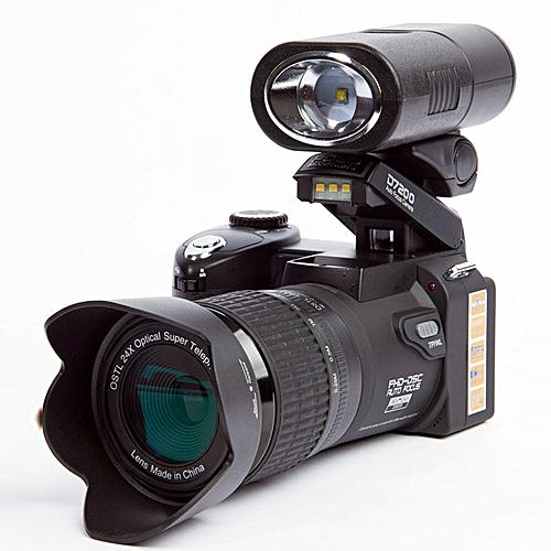 POLO SHARPSHOTS D7200 Digital Camera 33MP Auto Focus HD Video Camera 24X +Telephoto Lens Wide Angle Lens LED Fill Light TIMESHOP