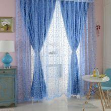 Generic Offset Printing Circle Gauze Door Window Curtain For Living Room  Bedroom Part 49