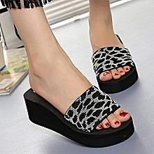 bbebcd821cd8e Women Shoes Platform Bath Slippers Beach Slippers