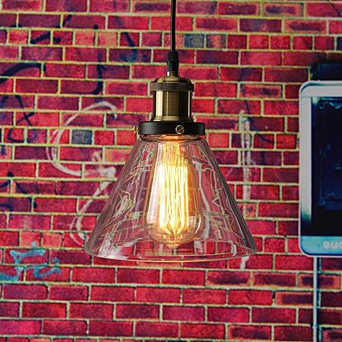 KingSo Vintage Chandelier Lamp Shades Cafe Creative Glass Cover E27 18.5cm X23cm 1M