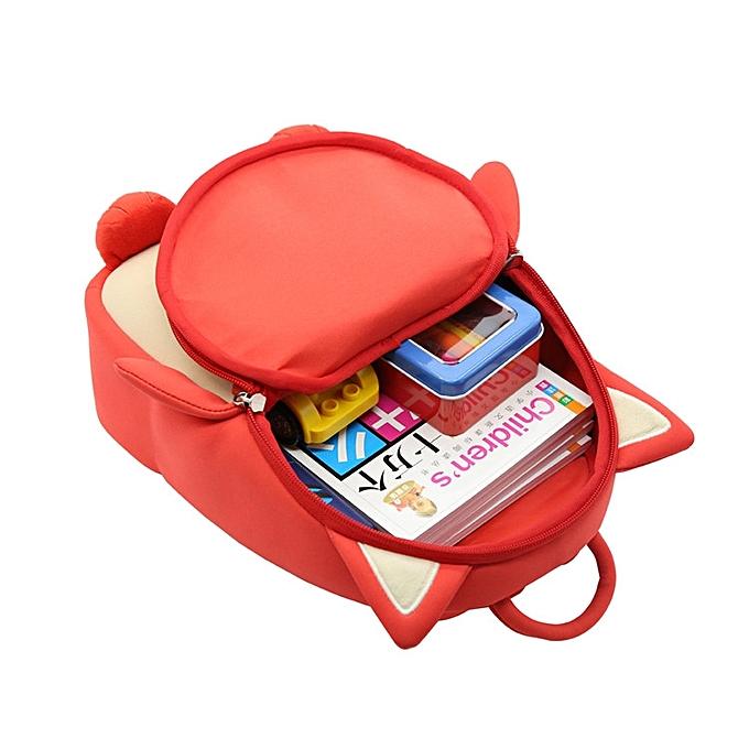 8b223c8c6b4 ... Alnaue Waterproof 3D Animal Preschool Kids Backpack Cute Toddler School  Bag ...