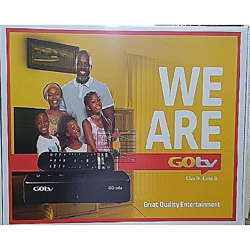GOTV MAX DECODER PLUS GOTENNA & 1 MONTH FREE SUBSCRIPTION