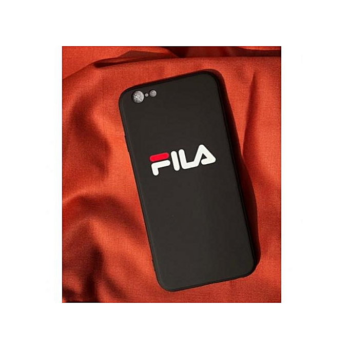 free shipping 55602 4800f Black Fila Case For IPhone 6