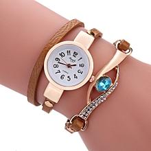 e7e8165eba7e Ladies Bracelet Wristwatch Sloggi - Brown